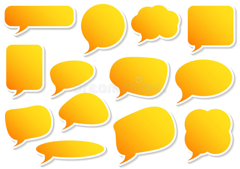 Download Speech Bubbles Set Royalty Free Stock Photo - Image: 34611965