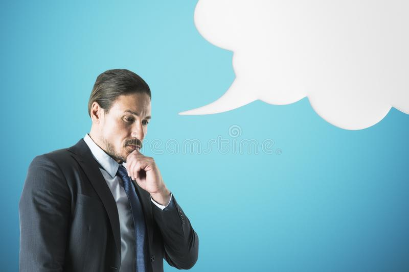 Speech and freedom concept royalty free stock photos