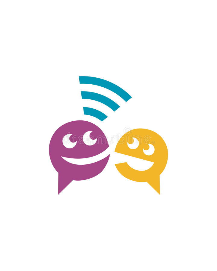 Speech Logo stock images