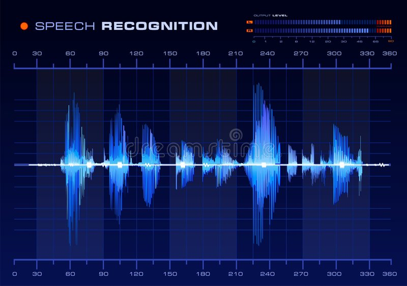 Download Speech Recognition stock vector. Image of meter, investigation - 3931983