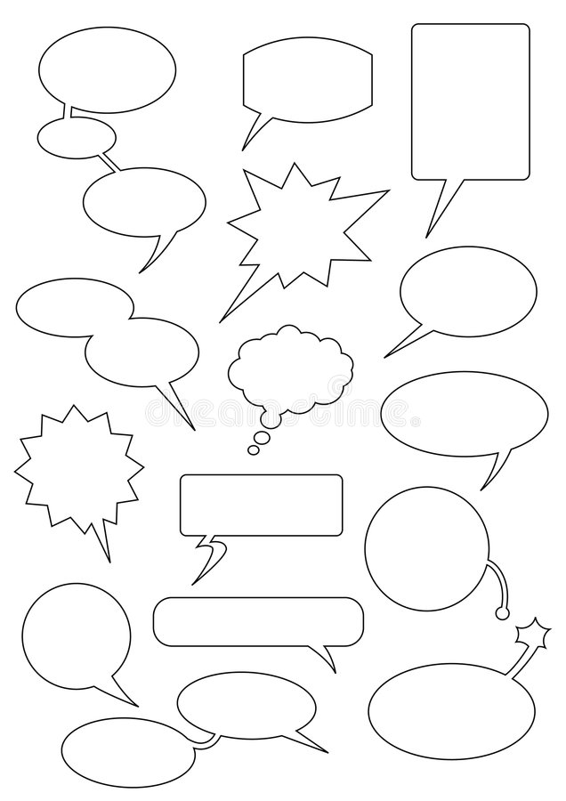 Free Speech_bubbles Royalty Free Stock Photos - 5064388