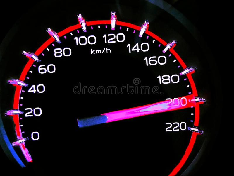 200 Kph To Mph >> At A Speed Of 200 Kilometers Per Hour Of High Lifters Truck