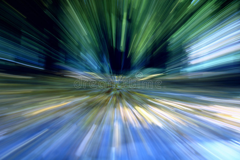 Speed. High speed road to infinity royalty free stock photography