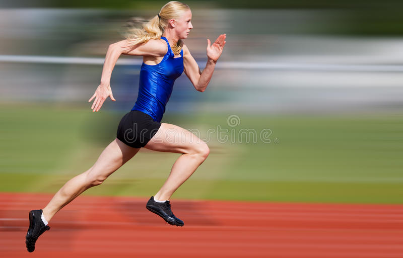 Speed blur royalty free stock photo