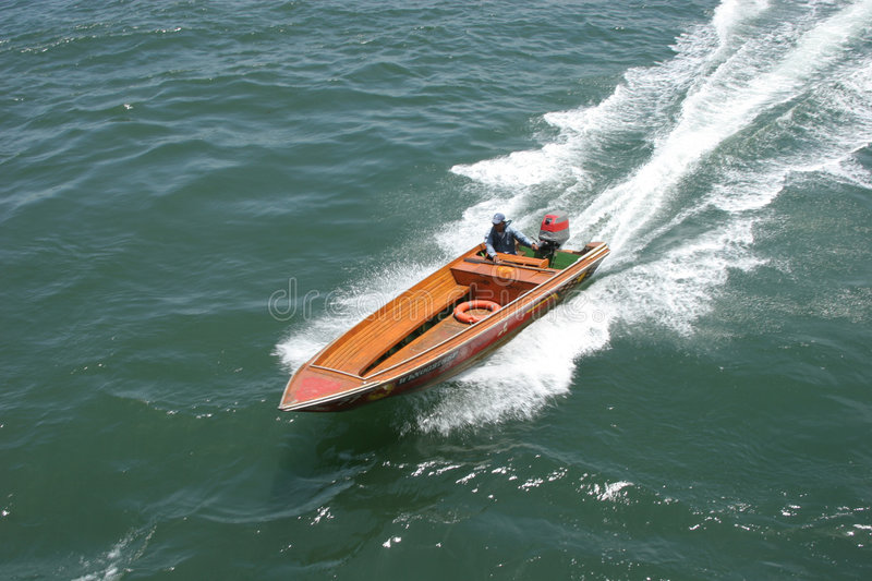 Speed boat royalty free stock photography