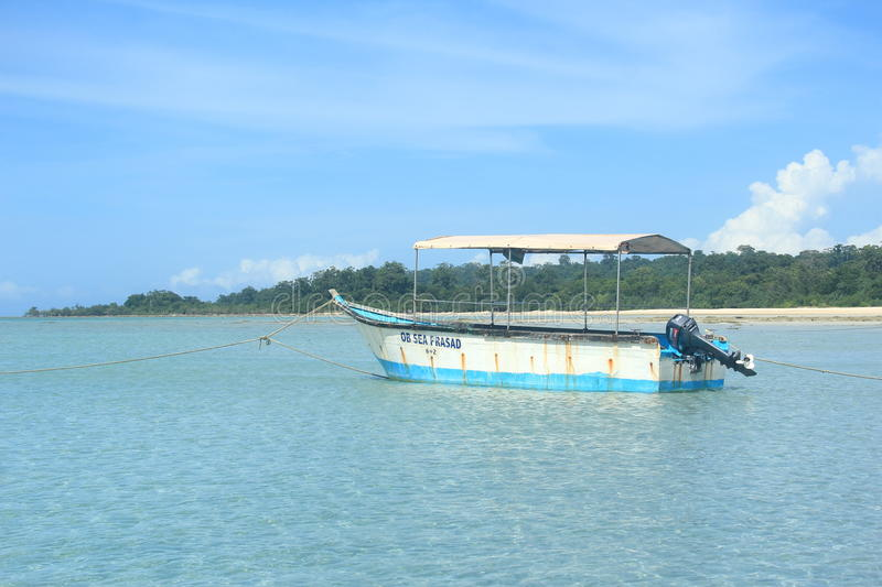 Speed Boat In Andaman Sea-1. stock photography