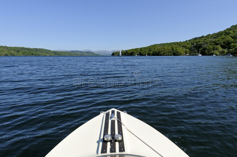 Download Speed Boat On Lake Windermere Stock Image - Image: 19743783