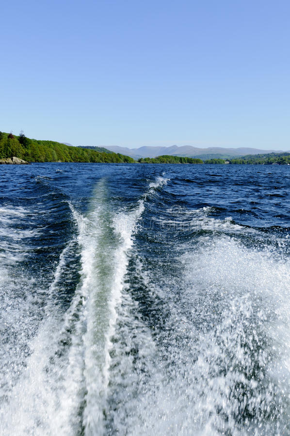 Download Speed Boat On Lake Windermere Stock Photo - Image: 19792982