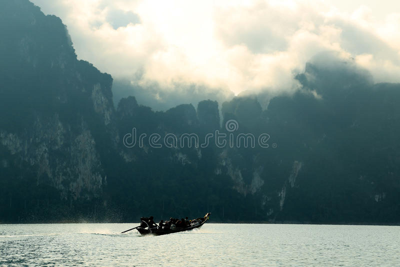 A speed Boat royalty free stock photos