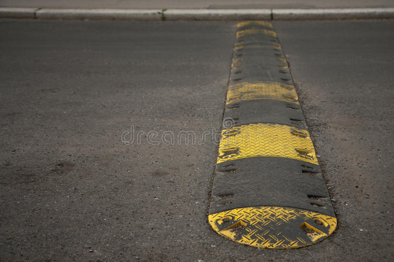 Speed bump stock images