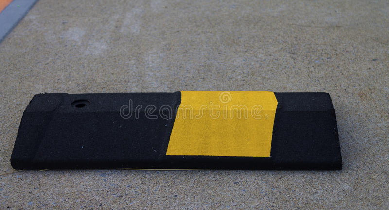Download Speed bump stock image. Image of black, cement, yellow - 26056821