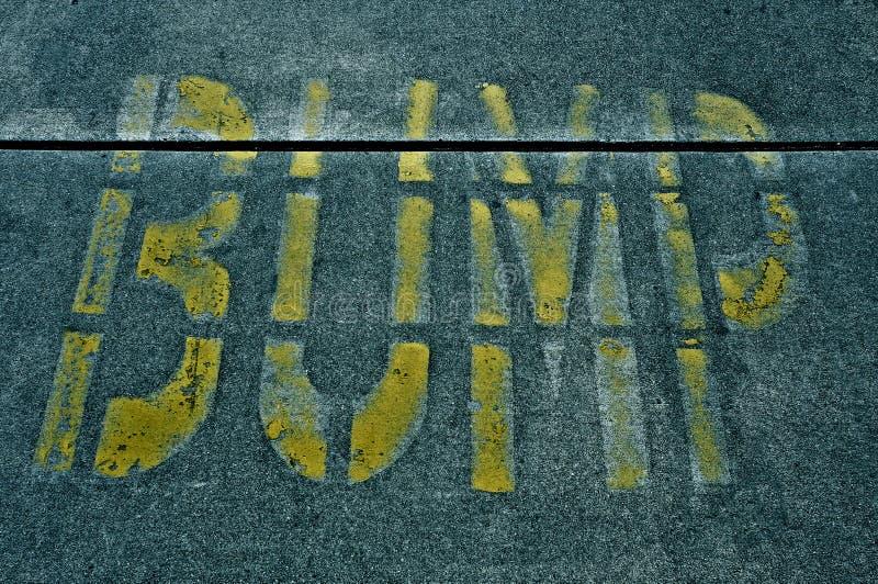 Download Speed bump sign stock image. Image of breaker, hump, bump - 26265723