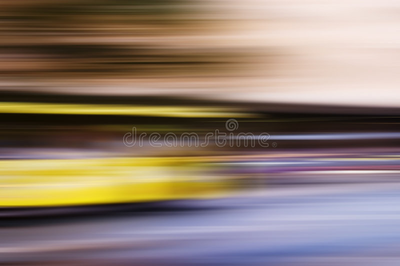 Speed Bus Abstract. Speed abstract of a bus on the streets of Oslo stock images