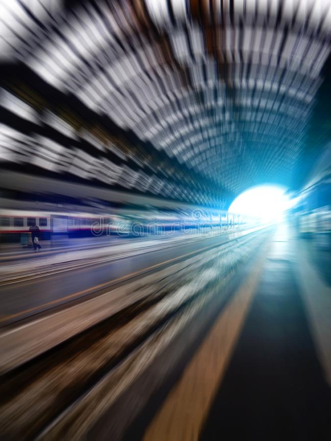 Speed city life - concept royalty free stock photo