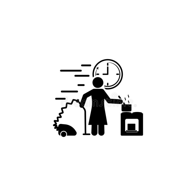 Speed cooking cleaning icon. Element of speed icon for mobile concept and web apps. Detailed speed cooking cleaning icon can be us. Ed for web and mobile on royalty free illustration