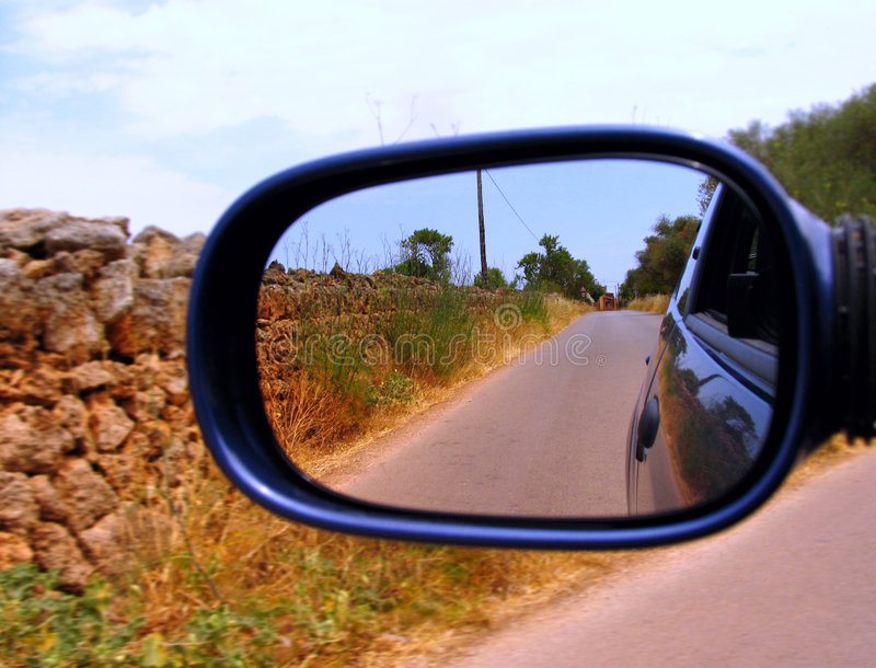 Speed On Countryside Road Royalty Free Stock Images