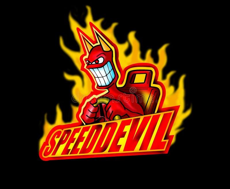 Speed devil stock images