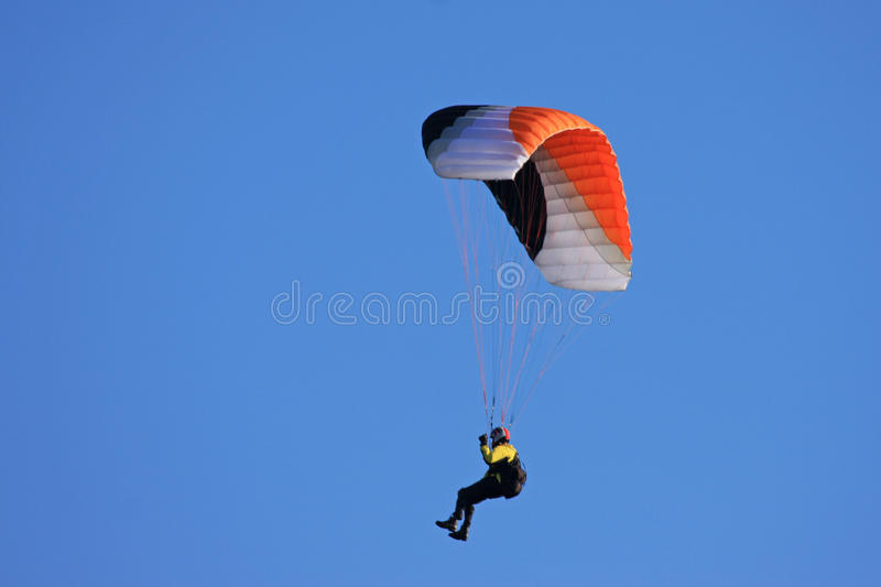 Speed flyer. Against blue sky royalty free stock images