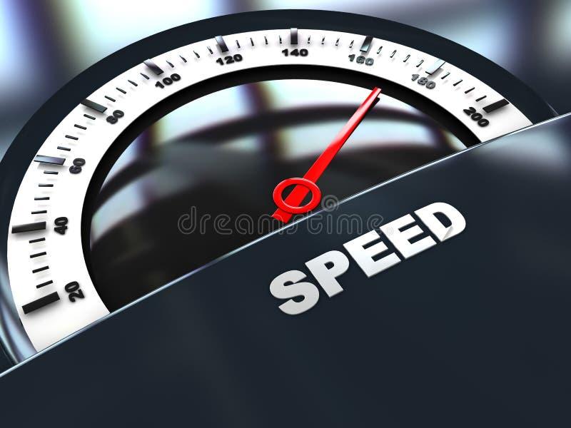 Download Speed gauge stock illustration. Image of power, meter - 12876620