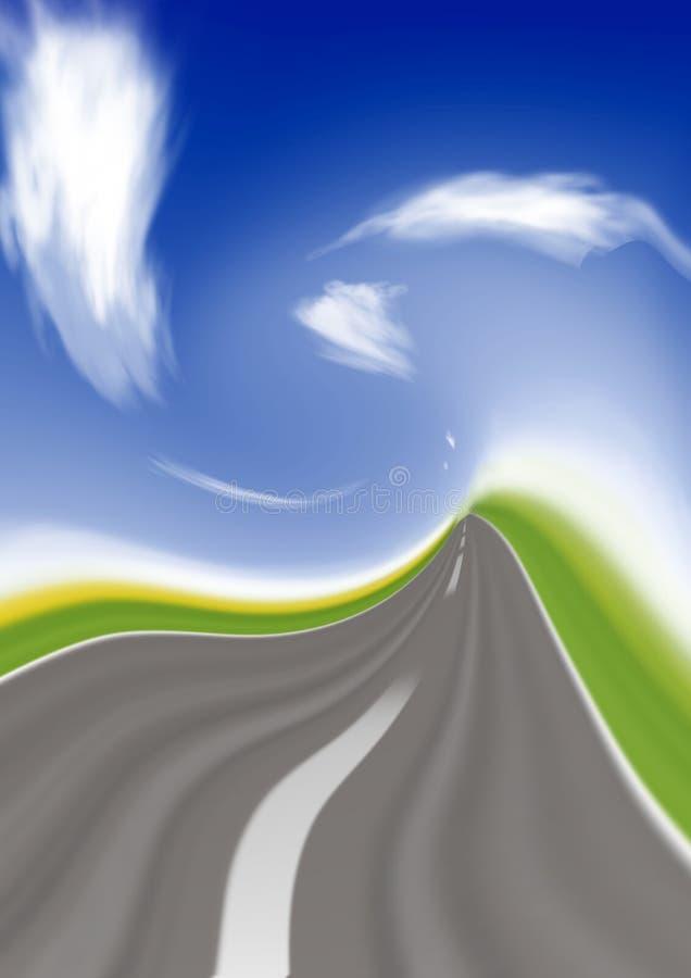 Download Speed highway stock image. Image of goal, endless, alert - 2549417