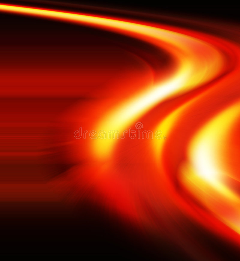 Speed of light. Abstract composition depicting the speed of light