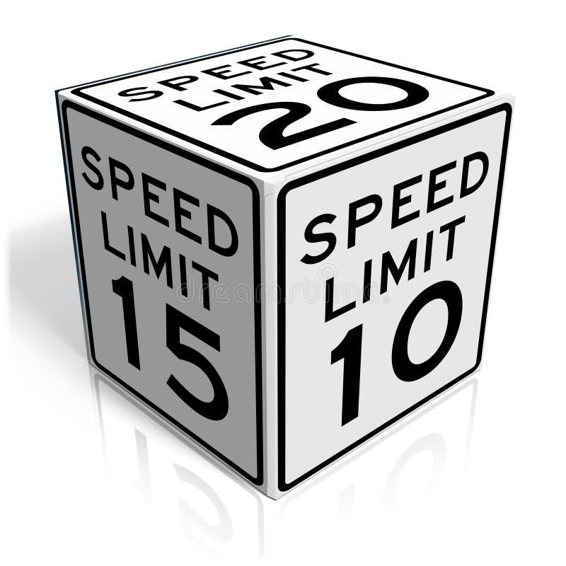 Download Speed limit stock illustration. Image of background, illustration - 15195804
