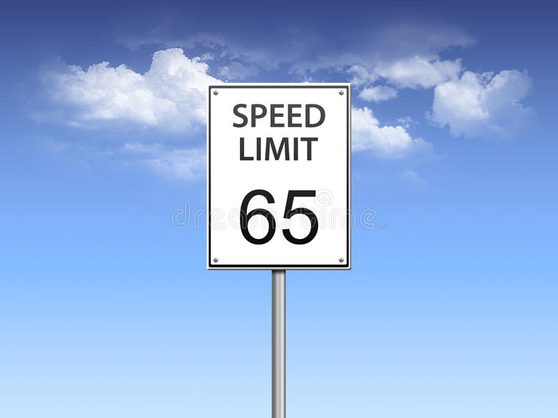 Download Speed limit sign stock illustration. Image of miles, ticket - 11560017