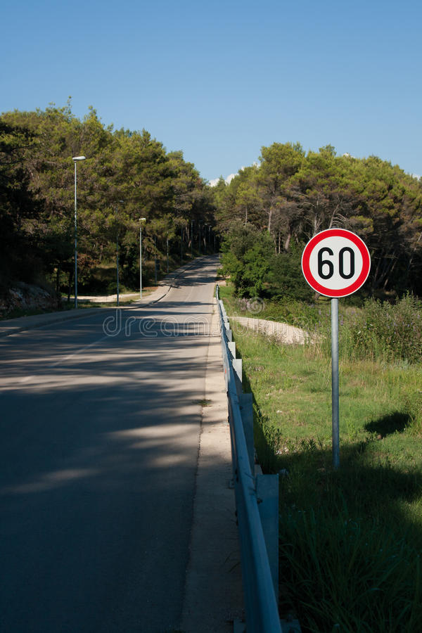 Download Speed limit sign stock photo. Image of european, vacation - 21023068