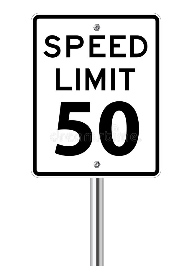 Free Speed Limit Sign Stock Images - 29867214