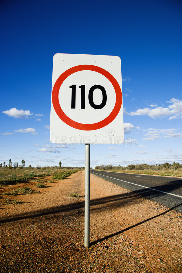 Free Speed Limit Sign Royalty Free Stock Images - 4414299