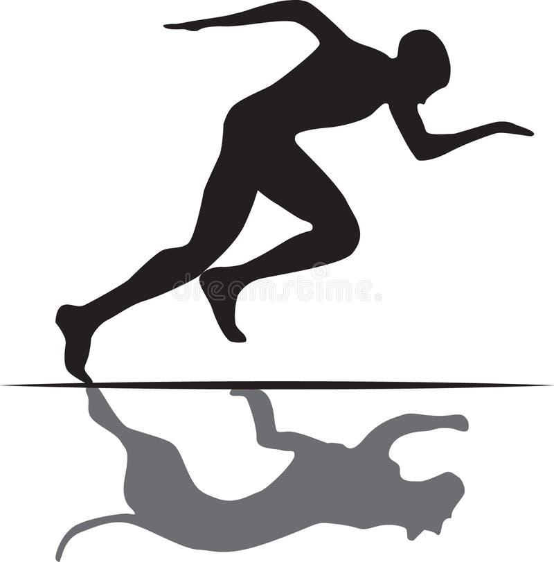 Speed stock illustration