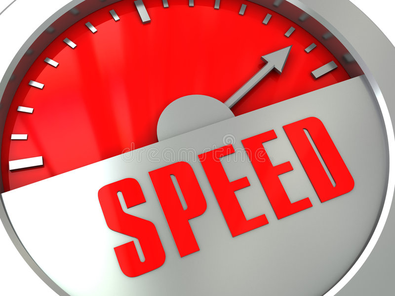 Download Speed meter stock illustration. Illustration of stick - 8681703