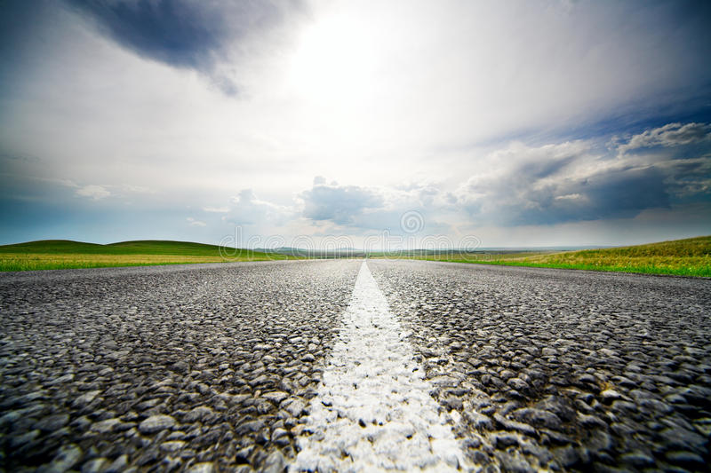 Speed road royalty free stock image