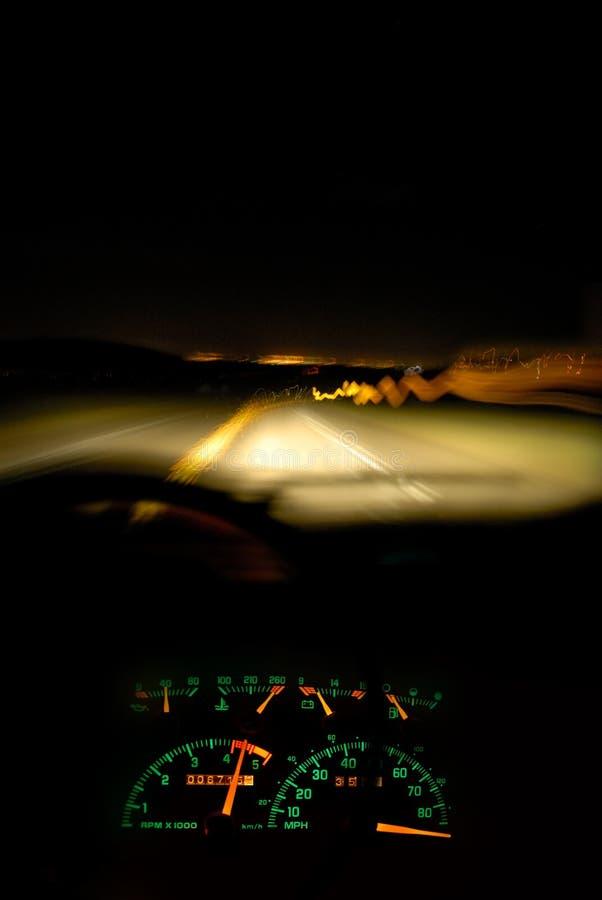 Speed: Runnin' On Empty royalty free stock image