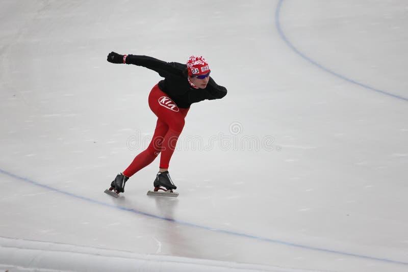 Speed Skating Editorial Stock Photo