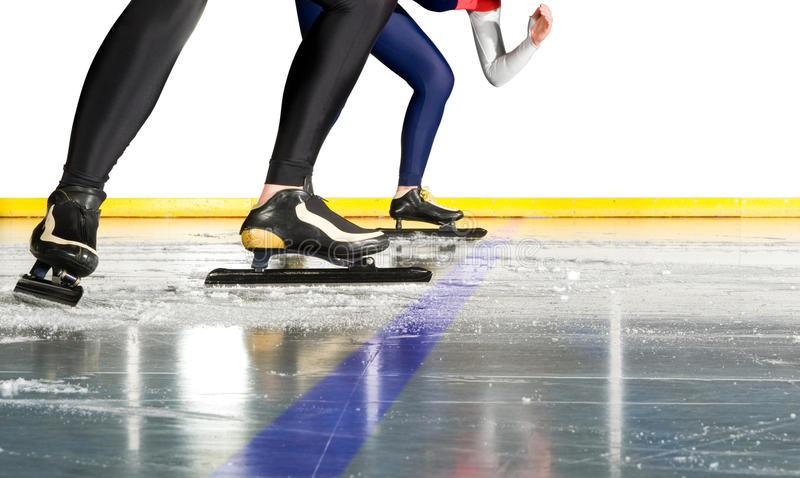 Download Speed skating start stock image. Image of skater, laces - 14989377