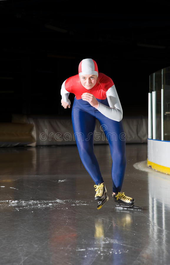 Download Speed skating start stock photo. Image of klapscate, leotard - 14989518