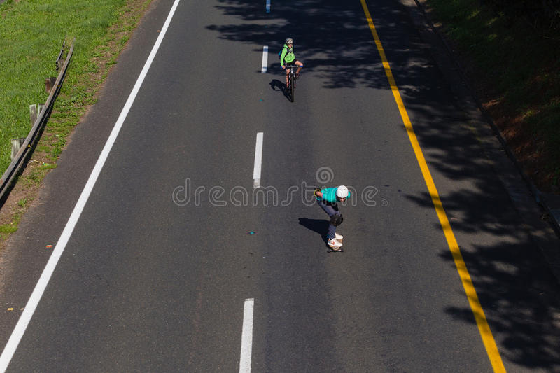 Download Speed Skating Thrill editorial photo. Image of skateboard - 27156606