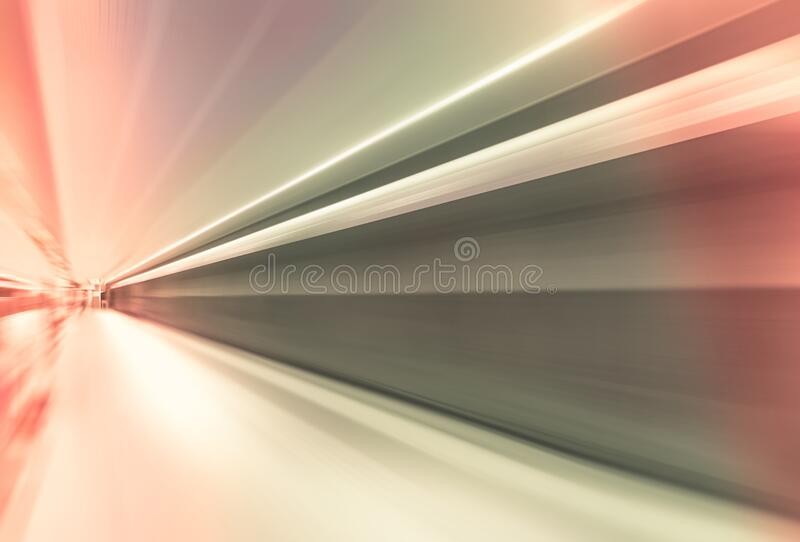 Speed of travel. Abstract lines showing speed of modern comfort travel royalty free stock photography