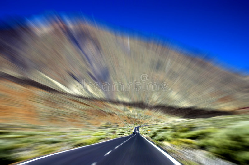 Speed-way photographie stock libre de droits