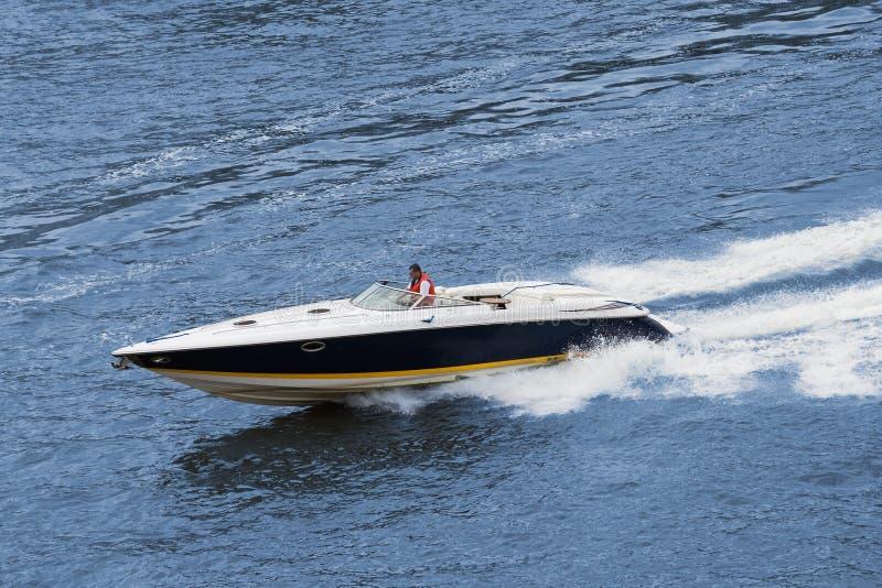 speedboat royaltyfria foton