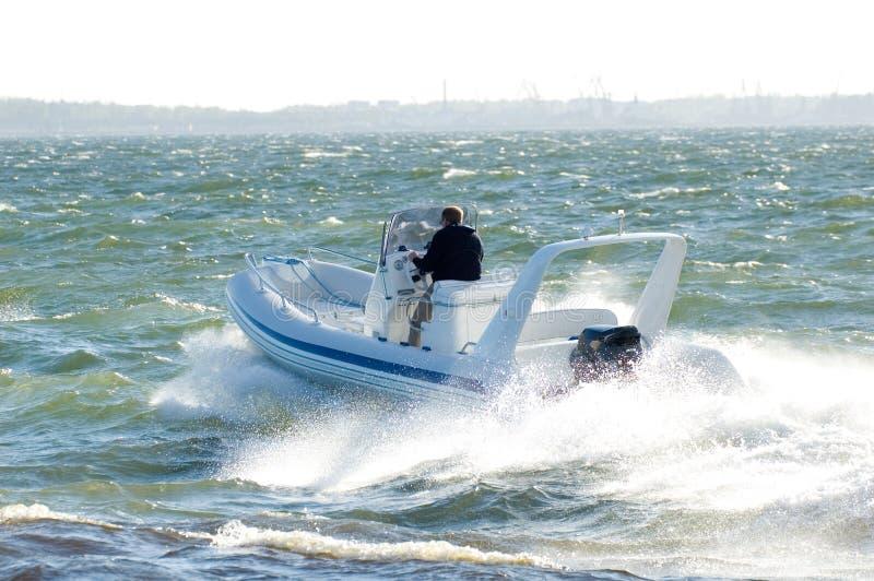 speedboat 20 arkivbild