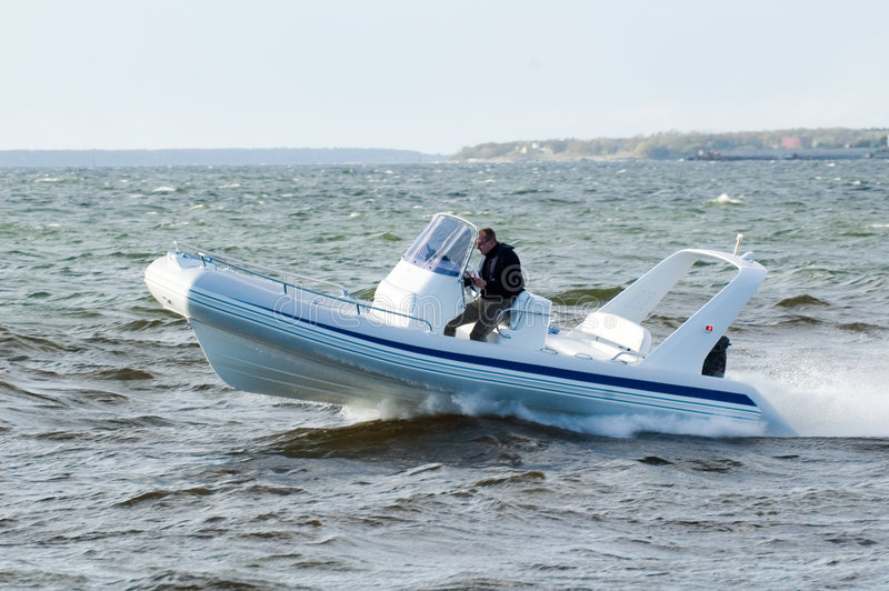 speedboat 22 royaltyfria foton