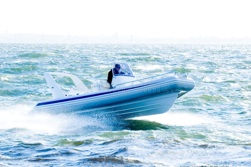 speedboat 26 royaltyfria foton