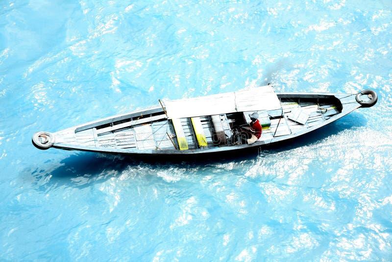 Speedboat At Musi River 5 stock photos