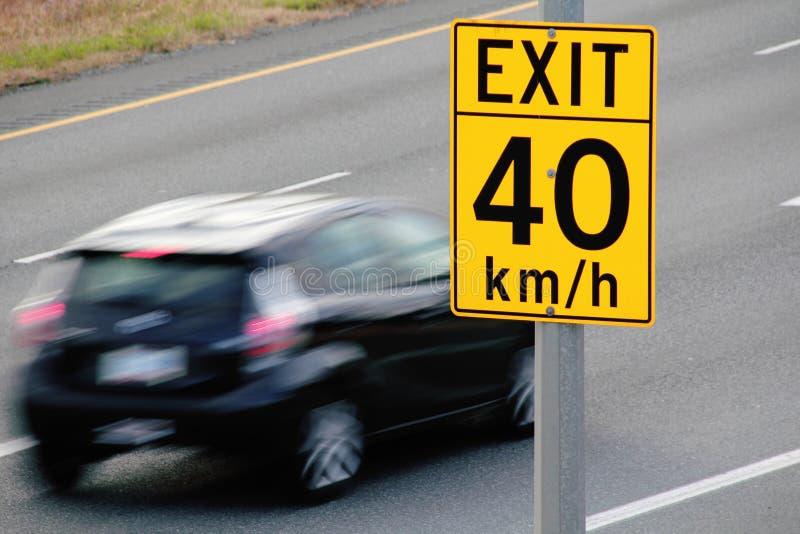 speeding стоковые фотографии rf