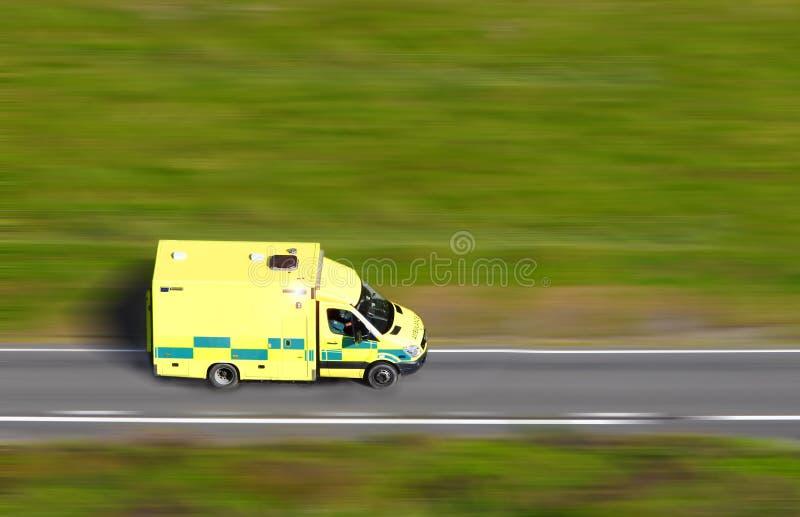 Download Speeding ambulance stock image. Image of green, speeding - 36271263