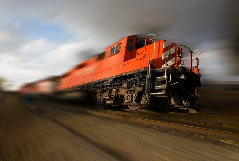 Speeding locomotive stock images