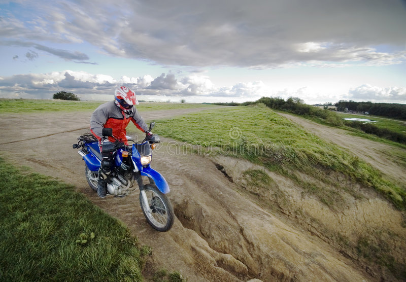 Download Speeding motorbike stock image. Image of countryside, speed - 3042063