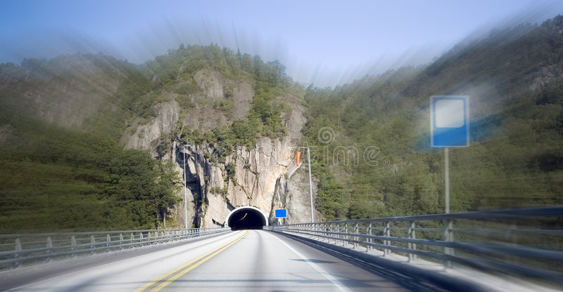 Download Speeding In Norway Royalty Free Stock Photography - Image: 2988017